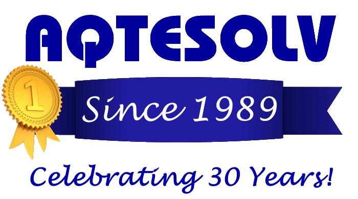 AQTESOLV: Celebrating 30 Years